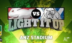 2 silver tickets (right next the bulldogs supporters