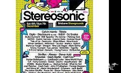 2 x 2-Day Stereosonic Tickets in Adelaide for Sale.