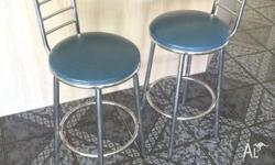 2 x Bar stools / breakfast bar stools.