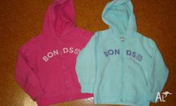 2 x BONDS hoodies *Size 5 *Good for childcare *2