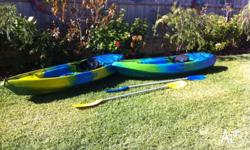 2 x Escape Pacer XS Kayaks Used Single seats WA Made