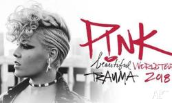 2 x tickets to see PINK live at Rod Laver Arena