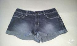 2 pairs of denim girls size 12 shorts. Never been worn.