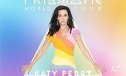 2 x Katy Perry - The Prismatic World Tour Concert