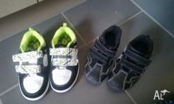 2 PAIRS OF BOYS SHOES SIZE 9 Only worn for about a