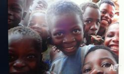 Two gorgeous photographs 60 x 80cm of African children