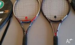 Up for sale are two prince racquets. Excellent