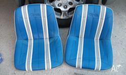 2 x Quintrex padded boat seats for sale, could suit any