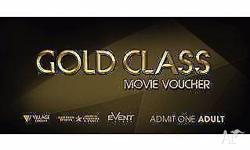 2 x Village Cinemas Gold Class Vouchers