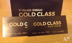 Gold Class Gift Vouchers make the perfect gift. Gold