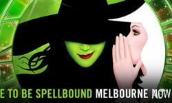 Two tickets to see Wicked the music at Melbournes