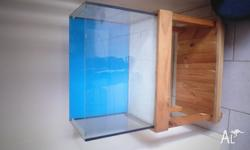 standard 2ft tank with stand no lids, also have other