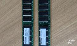 For sale is a set of new, never used 2 x 1GB PC 3200