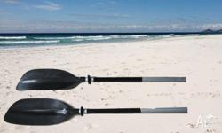 Deluxe 2pc Alloy Kayak/Canoe Paddle 2.2m RRp$129 Two