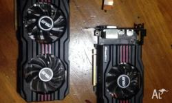 Up for grabs are 2 ASUS Radeon HD7870v2, Each have 2GB