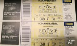 Beyonce Melbourne Tickets- This is the first Melbourne