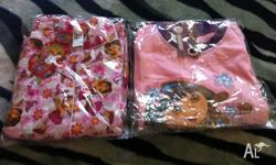 Hi up for sale are two brand new Dora pj's Size 6. Come