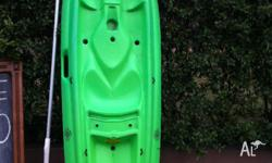 2 x 8ft Canyon kayaks with paddles $250 each in good