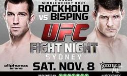 2x DIAMOND RINGSIDE TICKETS TO UFC FIGHT NIGHT ROCKHOLD
