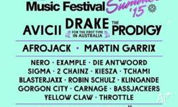 2x electronic Future Music Festival tickets for sale as