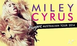 2x GA Tickets for Miley Cyrus Sydney. Fri 17 Oct 2014