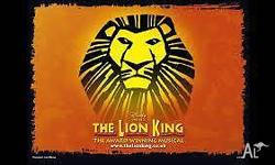Looking to swap tickets for the Lion King (Perth). We