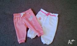 Beautiful baby girl pants/trousers for baby up to 3