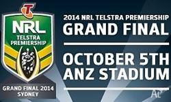 Selling: 2 x NRL 2014 Grand Final Tickets to the
