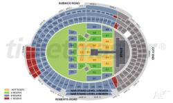 There are great seats, in section B4, row BB and seats