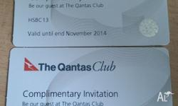 The last set of 2x Qantas Club passes that can be used