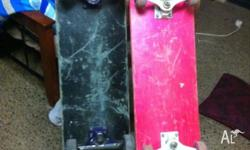 i have two 7ply standard decks for sale, one with eric