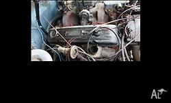 1970 307 chev engine with accessories and alloy rocker