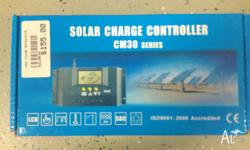 30 Amp Solar Charge Controller 12 / 24 Volt Half Moon
