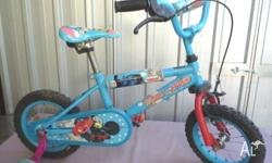 Nice blue 30 cm Toddler Bicycle in good condition with
