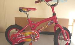 Little 30 cm Southern Star Toddler Bike with training