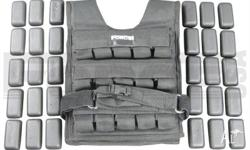Weight Vest 30kg By Force USA it comes with 12 months