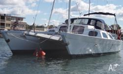 Catamaran ply and fibreglass,4 berth,galley,portapoti,3
