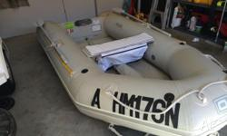 Up for sale is my Quicksilver Inflatable boat, with