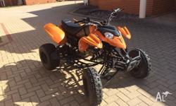 up for sale is my quad bike. starts from the first