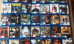 35 bluray movies as the lot all together for $120