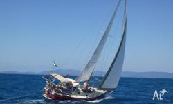 Currently sailing the Whitsundays. Rebuilt in 2002 from