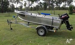 "FOR SALE - Ally Craft ""Arrow"" tinny Accessories"