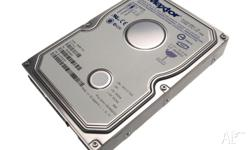 Various internal IDE hard disc drives for sale. All