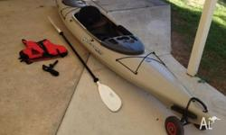 Have for sale my near new kayak. Barely used, Well