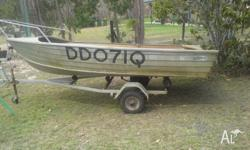 3.7m boat for sale $350 ono pick up from burrum town