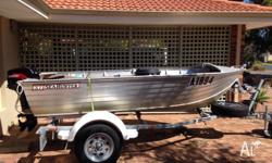 Comes with 18hp Tohatsu outboard with less than 20hrs