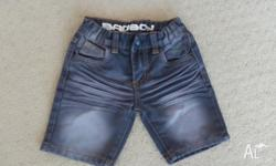 3 pair of boys size 4 shorts in great condition. Denim