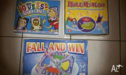 3 Board Games, excellent condition, Guess What I Am -