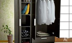 Need extra space for your clothes? Our wardrobe is the