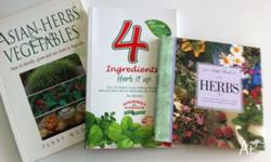 3 books on herbs As new Grab a bargain Moving